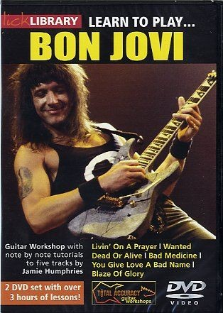 скачать видеошколу Lick Library - Learn To Play Bon Jovi With Jamie Humphries